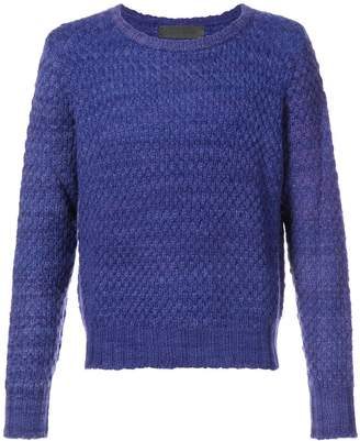 The Elder Statesman cashmere Pop Crew jumper