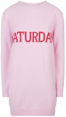 Alberta Ferretti Saturday Sweater Dress