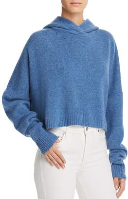 Theory Cashmere Drop Shoulder Hoodie