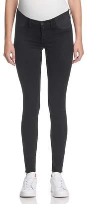 J Brand Mama J Super Skinny Maternity Jeans in Black $198 thestylecure.com