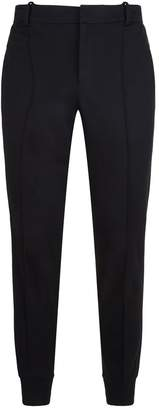 Emporio Armani Wool Blend Tapered Trousers