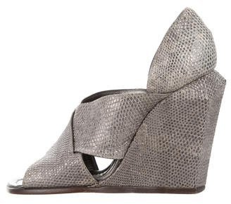 Marc Jacobs Marc Jacobs Karung Wedge Sandals