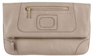 Anya Hindmarch Leather Paxton Clutch