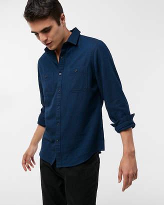 Express Marled Flannel Shirt