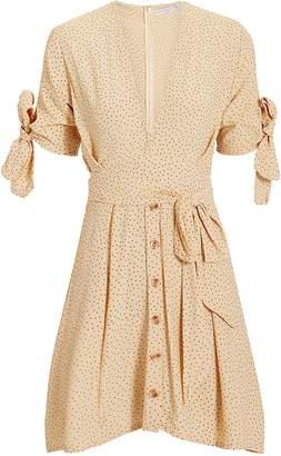 Faithfull The Brand Birgit Tie Mini Dress