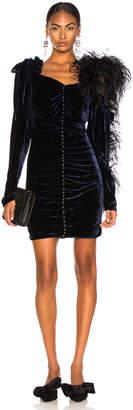 Magda Butrym Velvet Tefe Dress