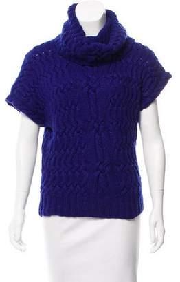 Oscar de la Renta Turtleneck Cashmere Sweater