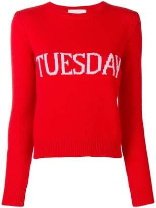 Alberta Ferretti Tuesday jumper
