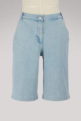Vanessa Seward France denim Bermuda shorts