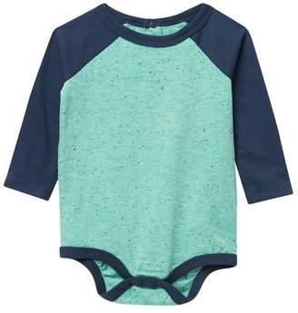 Joe Fresh Long Sleeve Bodysuit (Baby Boys)