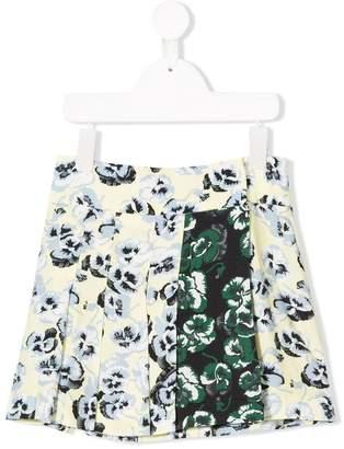 Marni wrap-around floral skirt