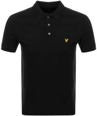 Lyle & Scott Polo T Shirt Black