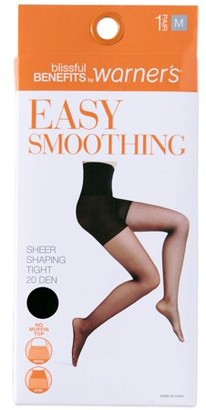 Warner's Blissful Benefits by Easy Smoothing Sheer Pantyhose, 1 Pair