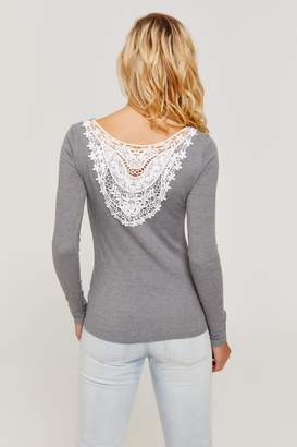 Ardene Crochet Back Top