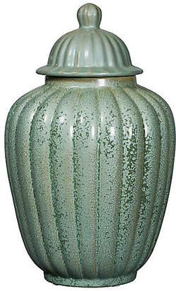 "19"" Temple Jar - Celadon - Bradburn Home"