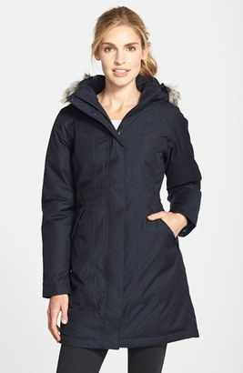 The North Face 'Arctic' Down Parka with Faux Fur Trim $299 thestylecure.com