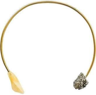 """Ricardo Rodriguez Design Pyrite Collar """"Corcovado"""""""