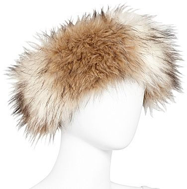 JCPenney Faux Fur Head Band