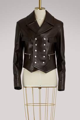 Chloé Studded leather jacket