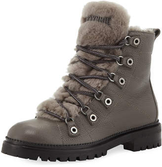 Jimmy Choo Hillary Lace-Up Hiker Boots