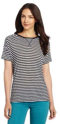 Vince Camuto Two by Women's Boxy Stripe Tee