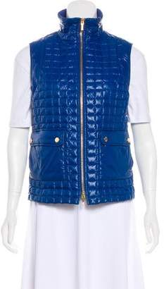 Tory Burch Quilted Down Vest