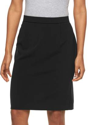 Briggs Petite Slimming Pencil Skirt