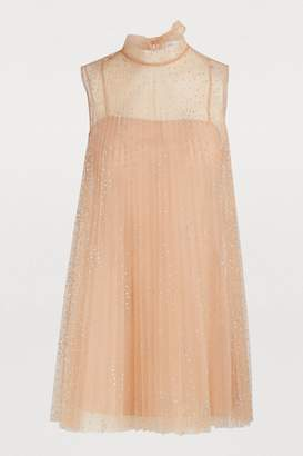 RED Valentino Short transparent dress