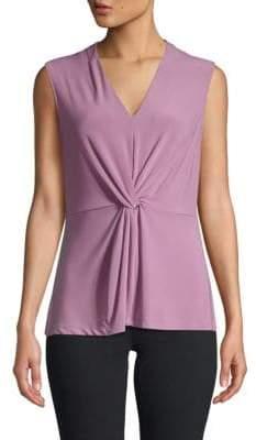 092a7f73fba0 Donna Karan Purple Women's Tops - ShopStyle