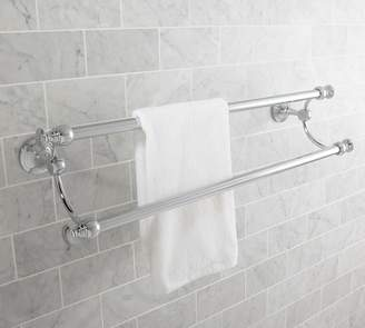 Pottery Barn Mercer Double Towel Bar