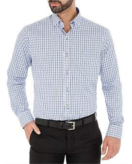 Ganton Tony Check Shirt - Slim Fit