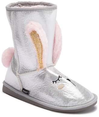 Muk Luks Faux Fur Bunny Boot (Little Kid)