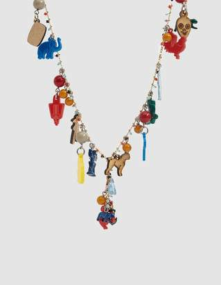 Marni Metal Necklace with Toys