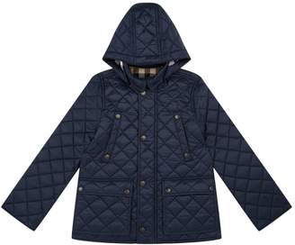 Burberry Quilted Jacket with Detachable Hood (4 Years - 12 Years)