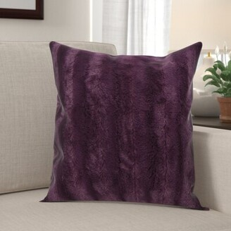 Alwyn Home Grasso Indoor Faux Fur Throw Pillow Alwyn Home