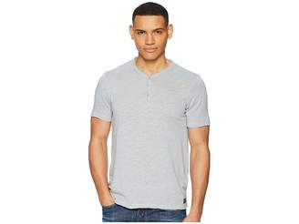 Lucky Brand Raw Edge Y-Neck Henley Shirt