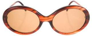 Christian Roth Round Tinted Sunglasses