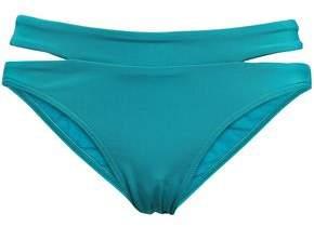 Jets Cutout Mid-rise Bikini Briefs
