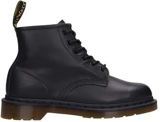 Dr. Martens (ドクターマーチン) - Dr. Martens Black Leather Combat Boots