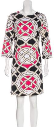 Julie Brown Printed Mini Dress