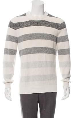 Brunello Cucinelli Striped Crew Neck Sweater w/ Tags