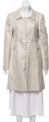 Gucci Lightweight Brocade Coat