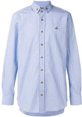 Vivienne Westwood striped button-down shirt