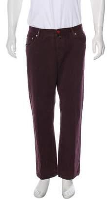 Kiton Cashmere-Blend Pants
