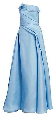 Rubin Singer Women's Strapless Hand-Draped Gown
