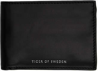 Tiger of Sweden Black Agata 2 Wallet