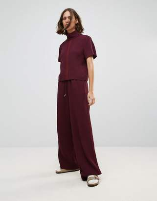 Wood Wood Josette Relaxed Wide Leg Trousers