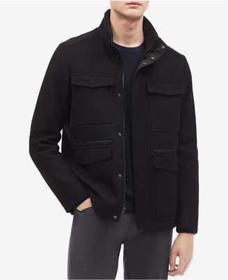 Calvin Klein Men's Wool-Blend Jacket