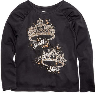 Epic Threads Little Girls Tiaras T-Shirt, Created for Macy's