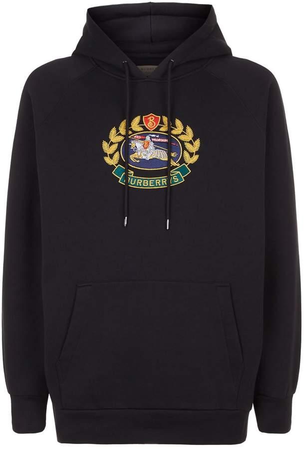 Burberry Emblem Hoodie